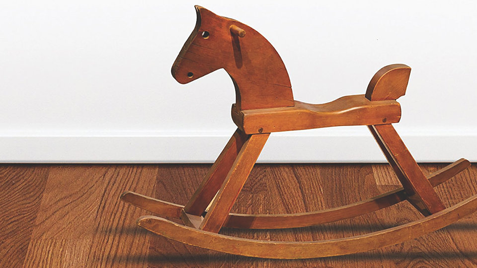 what happens when paul rides his rocking horse